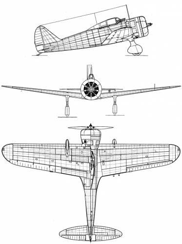 Nakajima Ki-27 Otsu (Nate)