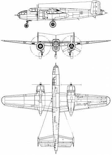 North American B-25A-MA Mitchell