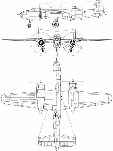 North American B-25B-NA Mitchell