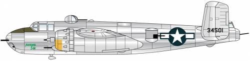 North American B-25H Mitchell