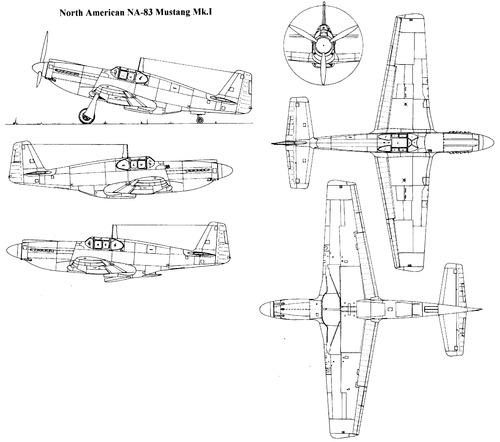 North American NA-83 Mustang Mk.I
