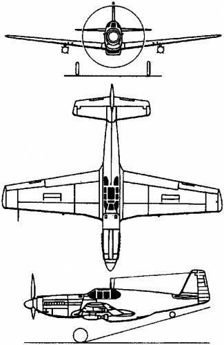 North American P-51 Mustang (1940)
