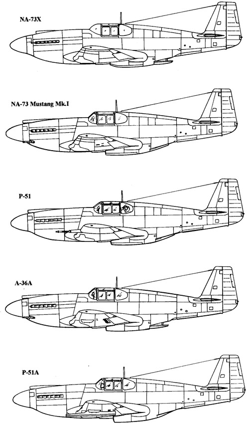 North American P-51 Mustang Mk.I