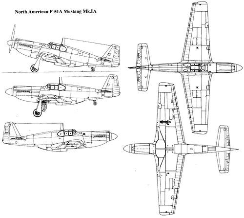North American P-51A Mustang Mk.II