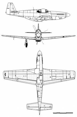 North American P-51B 5-NA Mustang
