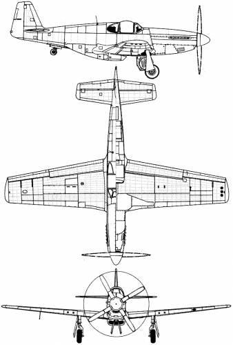 North American P-51B Mustang (Malcolm hood)