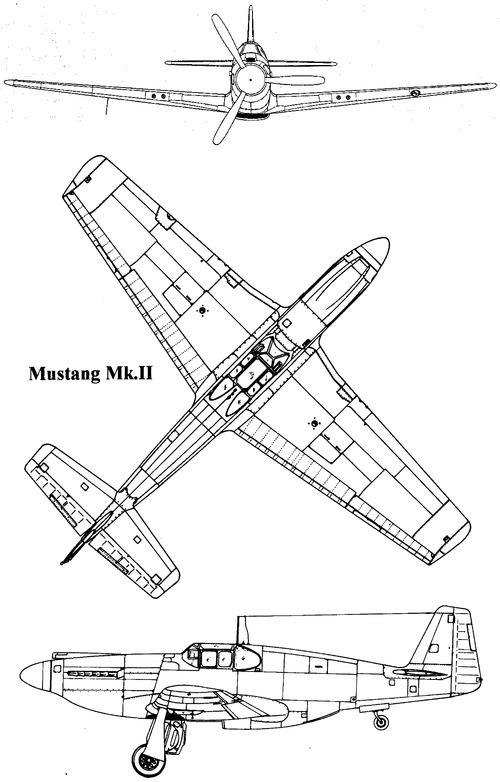 North American P-51B Mustang Mk.II