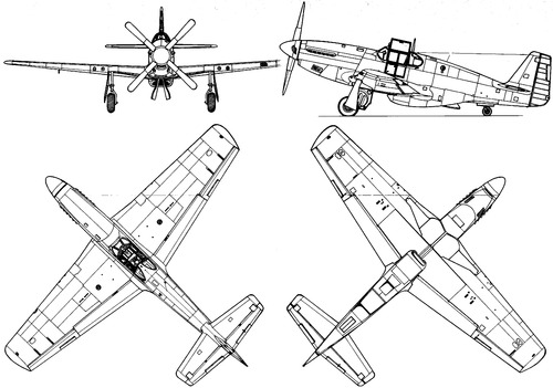 North American P-51C Mustang Mk.III