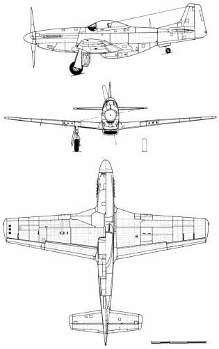 North American P-51D 10-NA Mustang