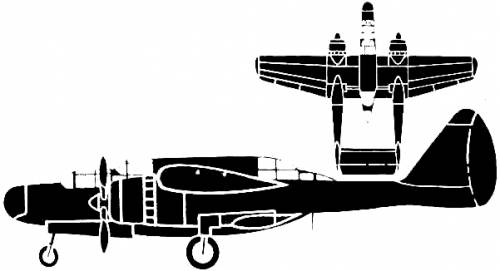 Northrop P-61A Black Widow