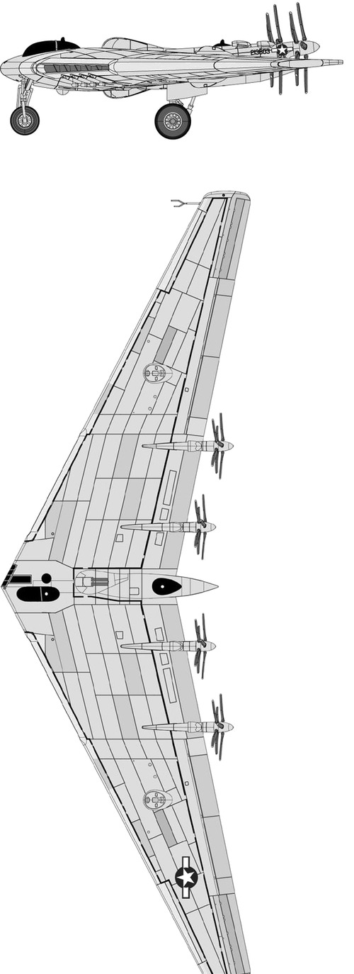 Northrop XB-35 Flying Wing