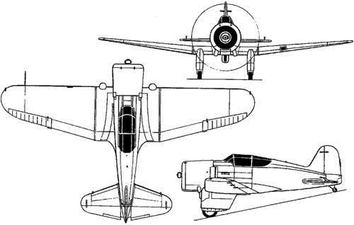 Northrop XFT  (1934)