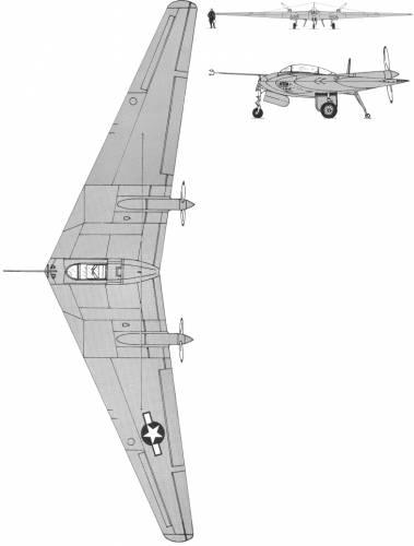 Northrop XN-9M Flying Wing