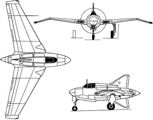 Northrop XP-56 Black Bullet (1943)