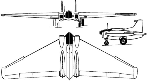Northrop XP-79B Flying Ram (1945)