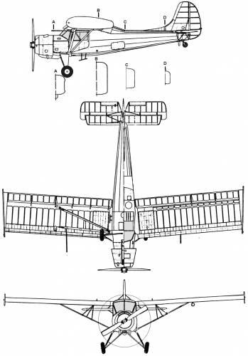 PZL 101 Gawron