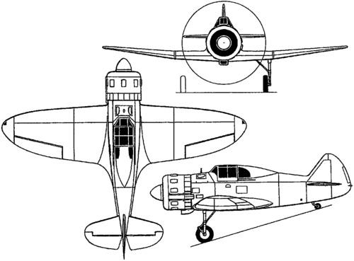 PZL P.50 Jastrzab  (1939)