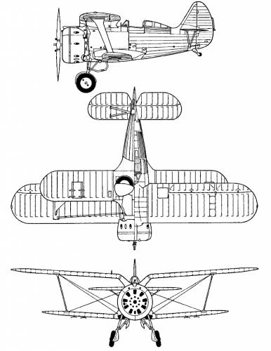 Polikarpov I-153 Chaika (Chato)