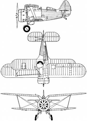 Polikarpov I-153 (Chato)