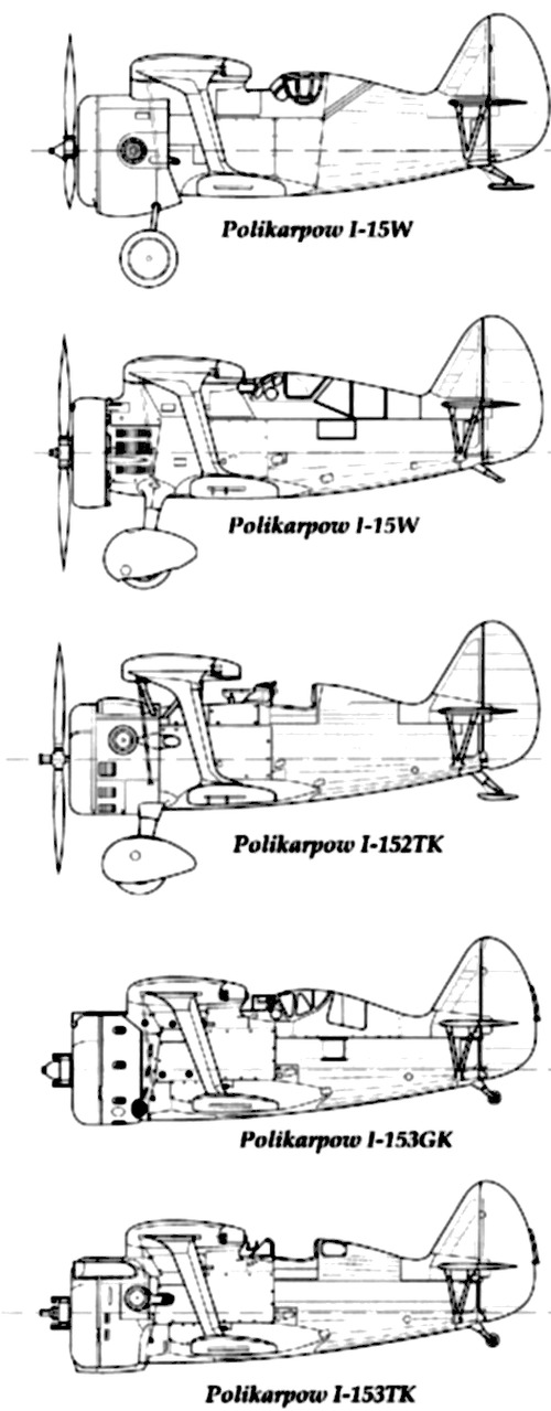 Polikarpov I-15 Chaika