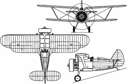 Polikarpov I-15 (Russia) (1933)
