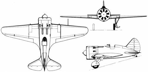 Polikarpov I-16-24