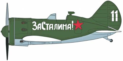 Polikarpov I-16 Chaika