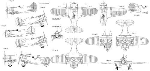 Polikarpov I-16 Chaika- Rata