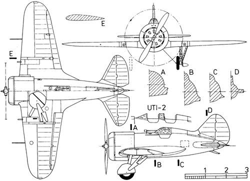 Polikarpov I-16 Chaika Type 4