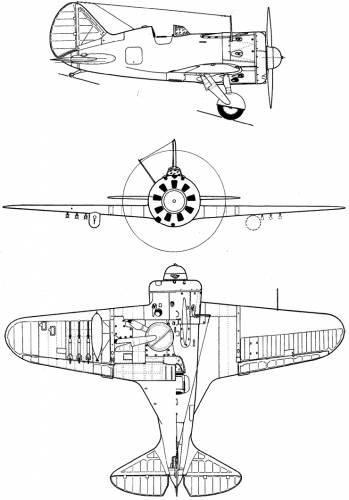 Polikarpov I-16 Mosca (Rata)