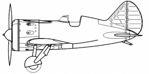 Polikarpov I-16 type 10 Rata