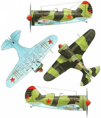 Polikarpov I-16 Type 16
