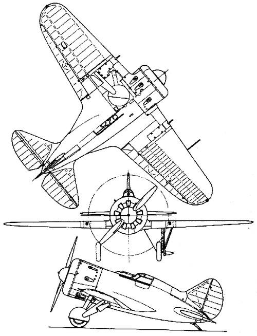 Polikarpov I-16 type 5 Rata
