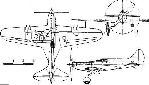 Polikarpov I-17