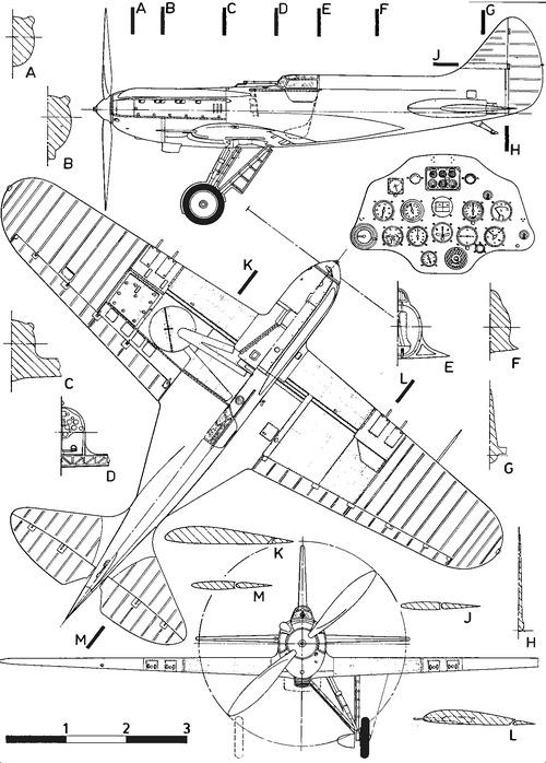 Polikarpov I-17 (CKB-15)