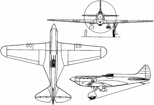 Polikarpov I-17 (Russia) (1935)