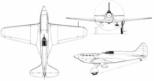 Polikarpov I-17 TsKB-19