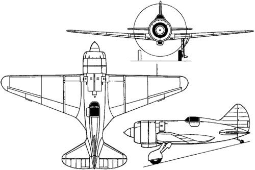 Polikarpov I-180 (1938)