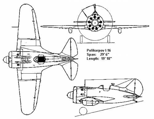 Polikarpov Il 16