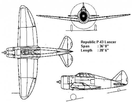 Republic P-43 Lancer