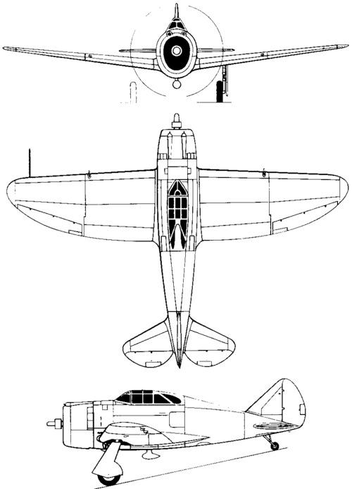 Republic P-43 Lancer (1940)