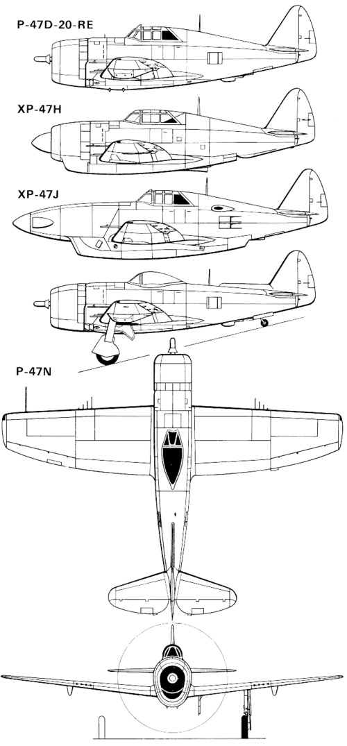 Republic P-47-2 Thunderbolt