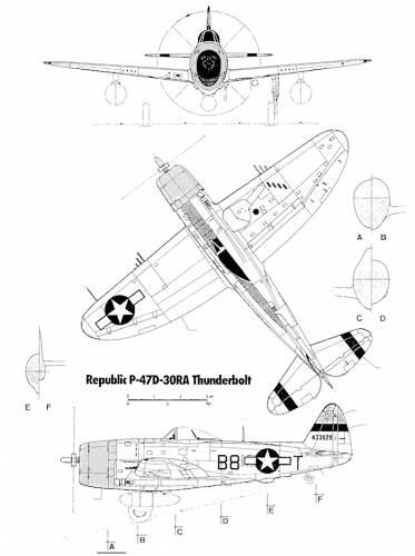 Republic P-47-30-RA Thunderbolt