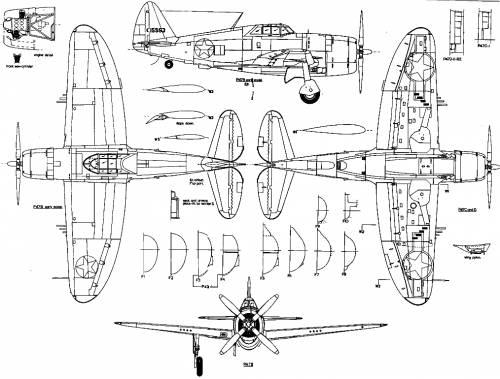 Republic P-47B Thunderbolt
