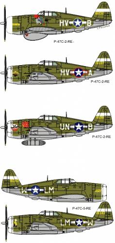Republic P-47C Thunderbolt