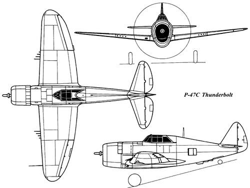 Republic P-47C Thunderbolt