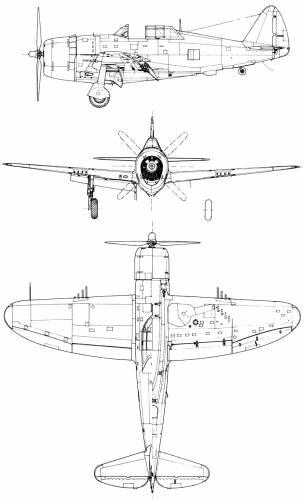 Republic P-47D-22 Thunderbolt