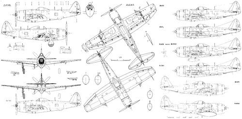 Republic P-47K-N Thunderbolt