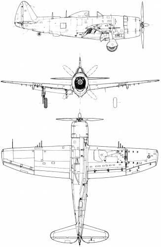 Republic P-47N-15 Thunderbolt
