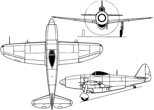 Republic XP-72 (1944)